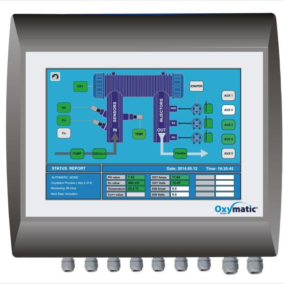 Unità di controllo Oxymatic Smart